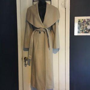 Mondi Silk/Wool Waterfall Coat
